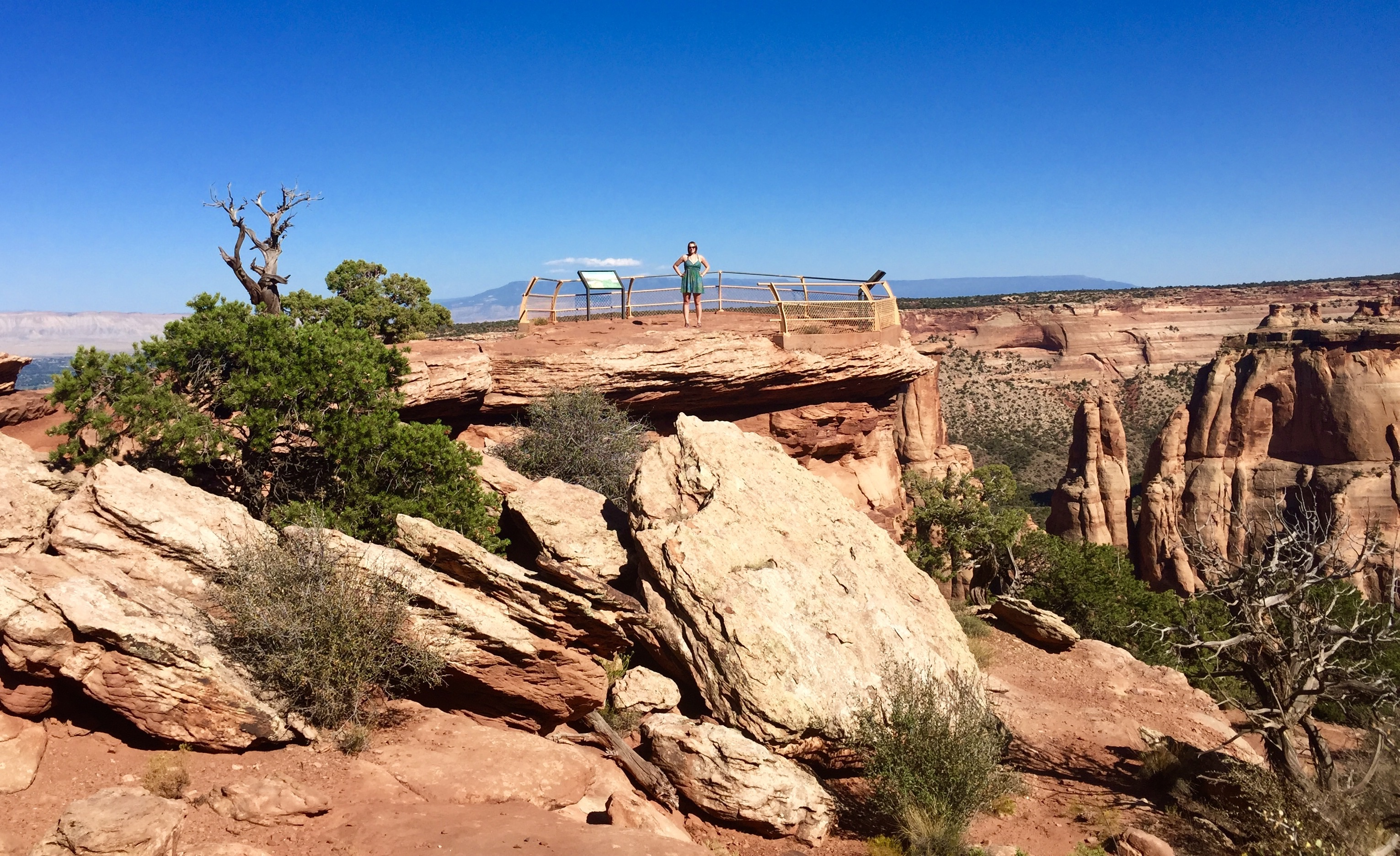 Overlook at the Colorado National Monument