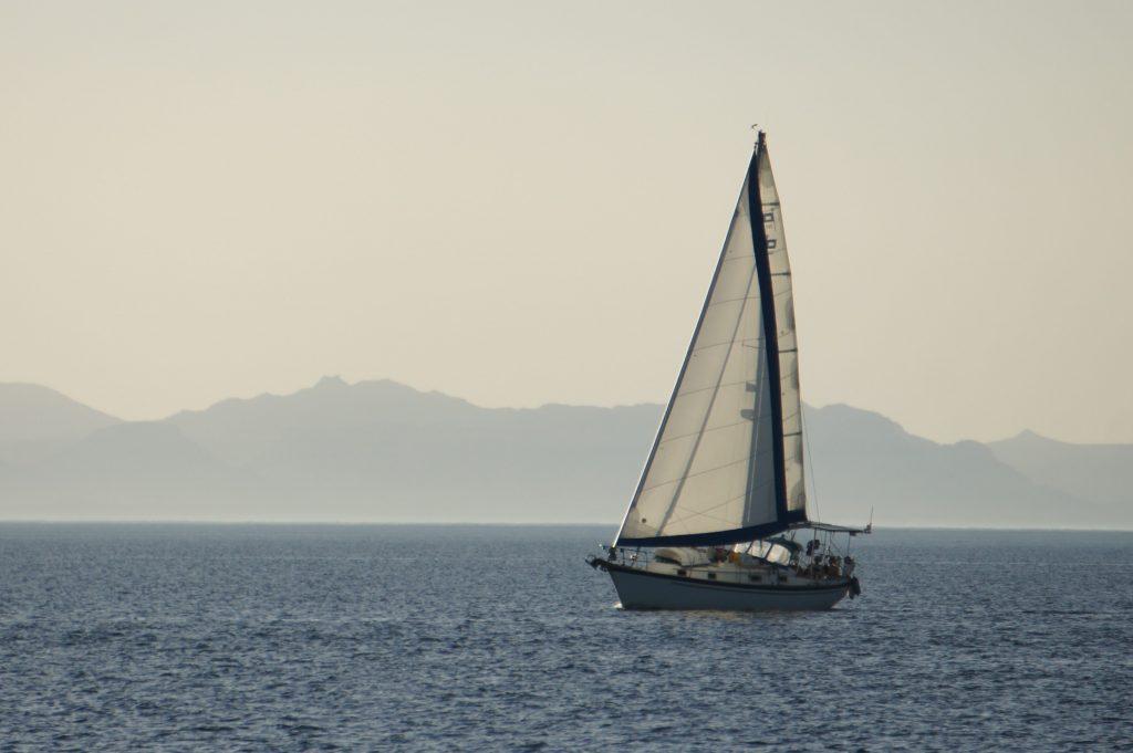Varuna Under Sail